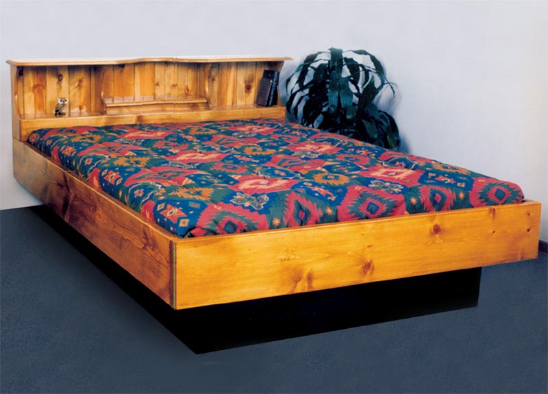 Queen Christy Ann Wood Frame Waterbed