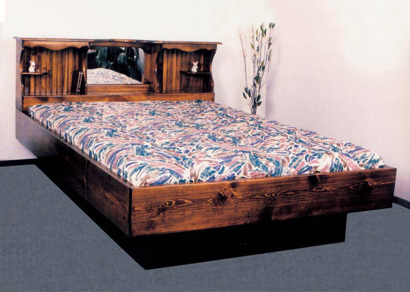 Queen Monarch I Wood Frame Waterbed