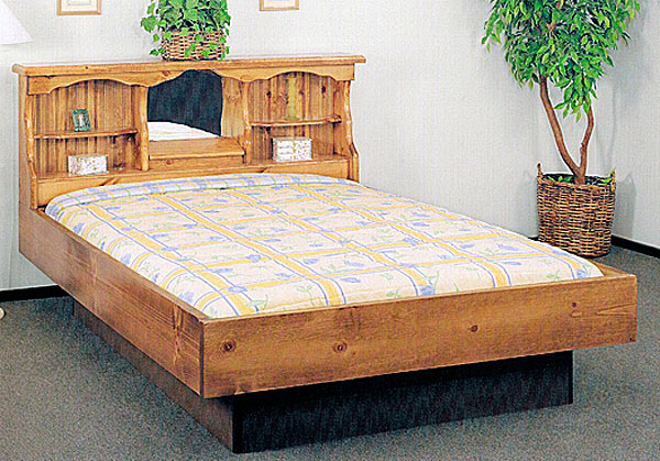 Waterbed Starlight Complete Hb Fr Deck Ped K King Pine