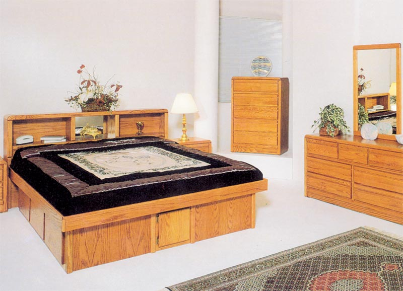 Waterbed Tulip HB or with Waterbed Super Single Super Single
