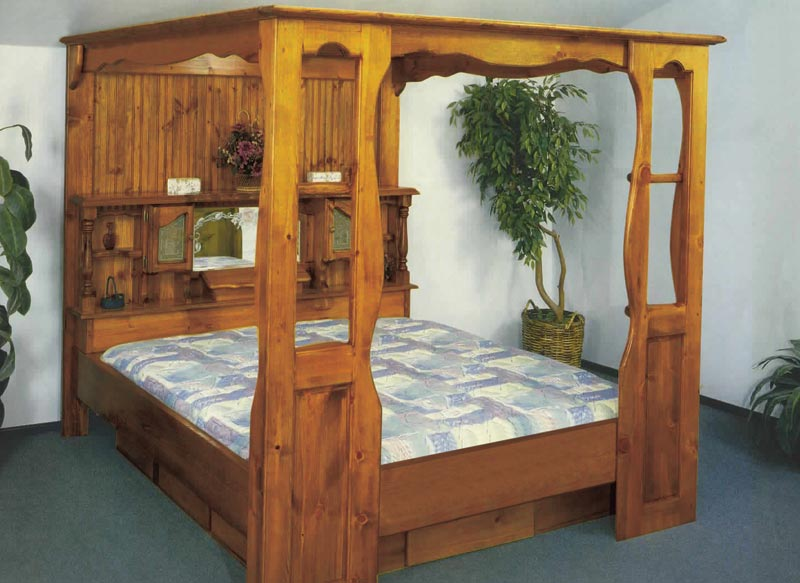 Waterbed King Pine Waterbeds Amp Frames Water Beds