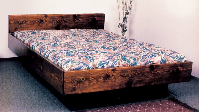 King Briarwood Wood Frame Waterbed