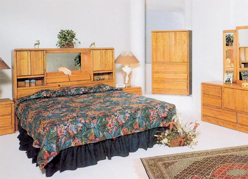 Waterbed Magnolia Hb Or With Waterbed Cal King