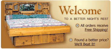 Waterbed specials and closeouts!